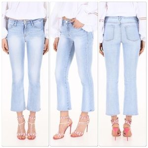 FRAME DENIM LE CROPPED FLARE 29 Rigid re-release